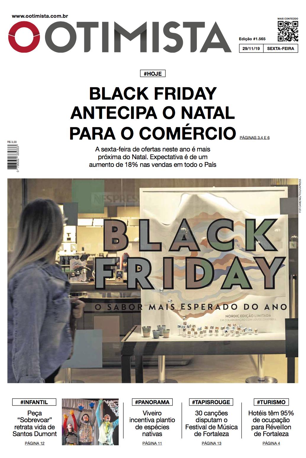 Jornal O Otimista - Versão impressa de 29/11/2019