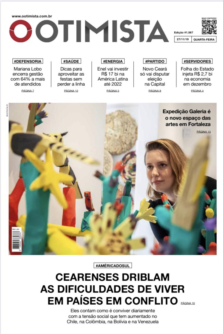 Jornal impresso de 27/11/2019