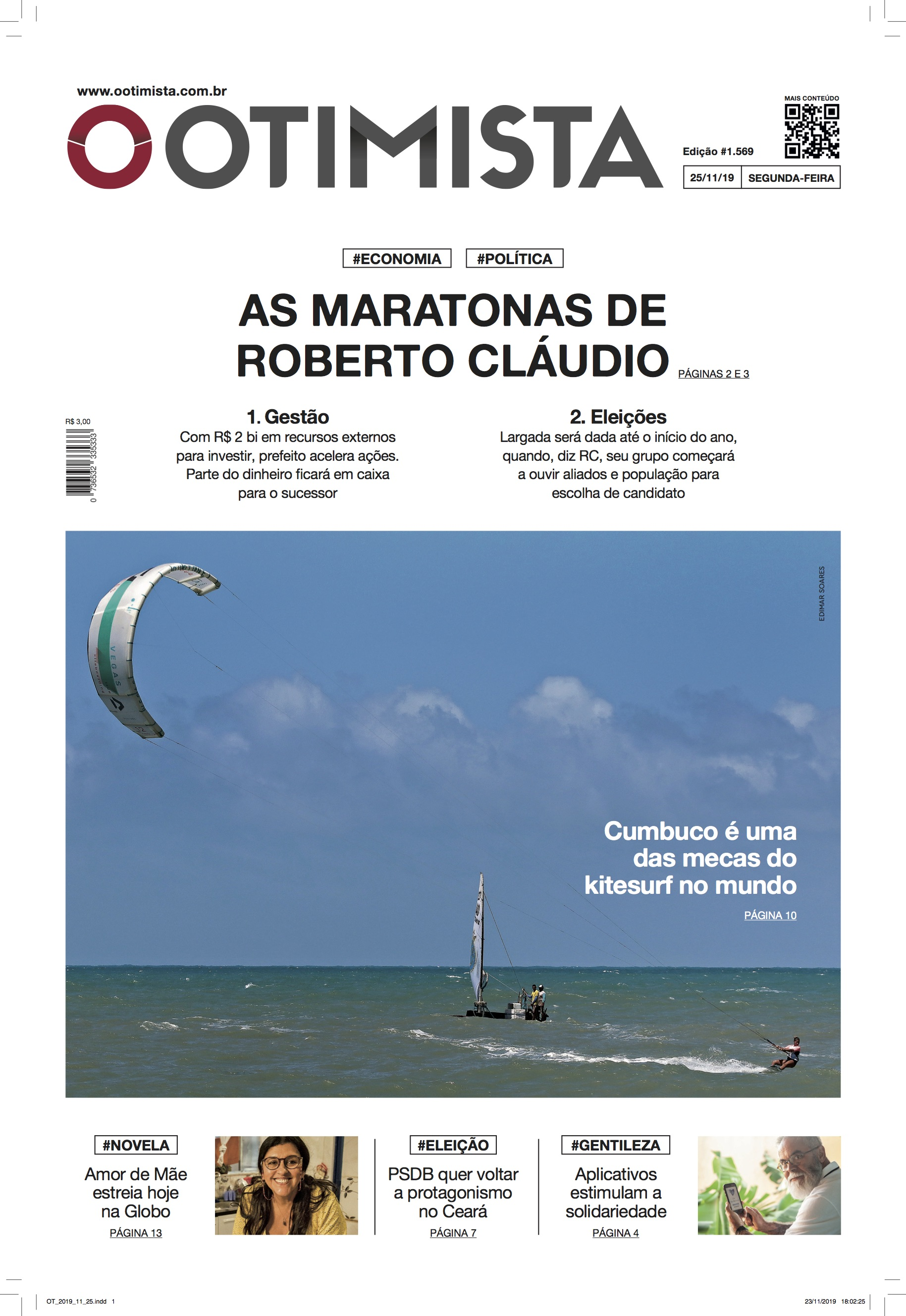 As maratonas de Roberto Cláudio
