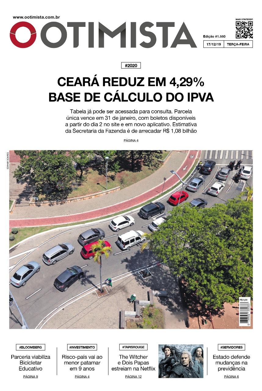 O Otimista - Edição impressa de 17/12/2019
