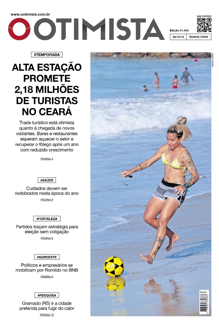 O Otimista - Edição impressa de 26/12/2019
