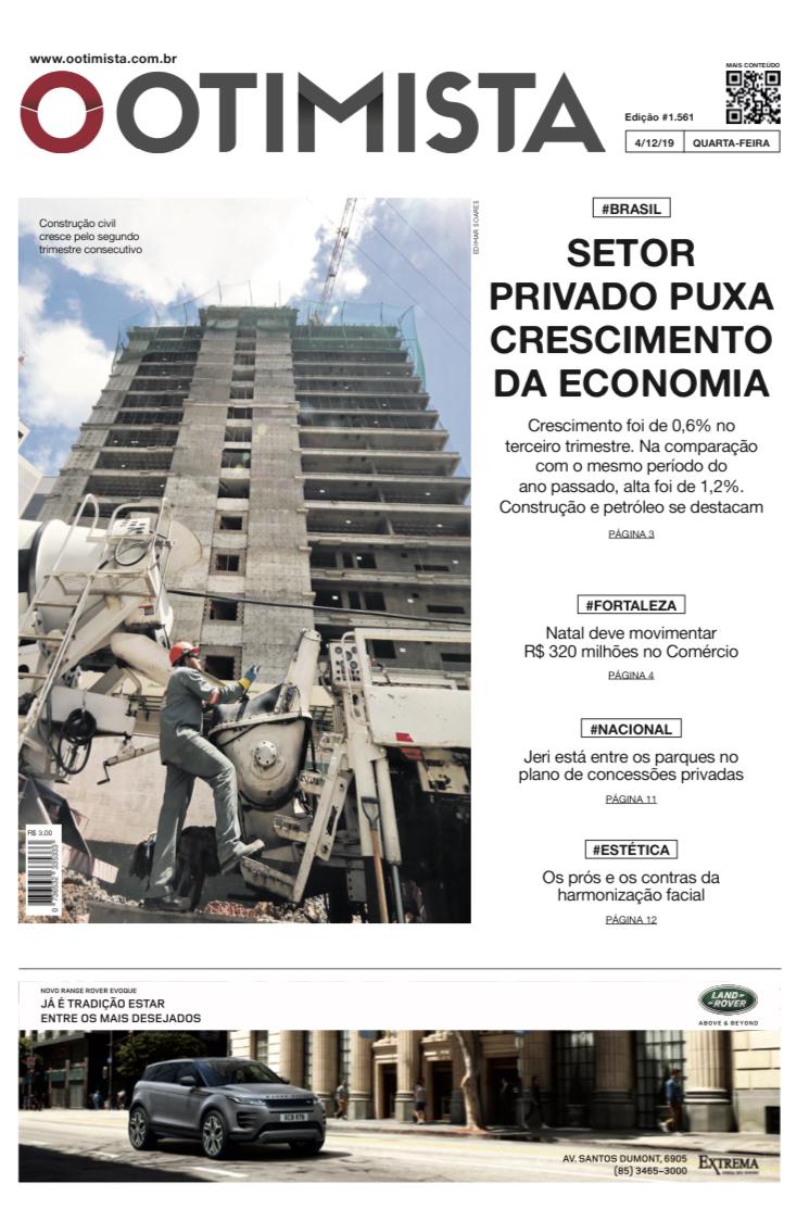 O Otimista - Edição impressa de 4/12/2019