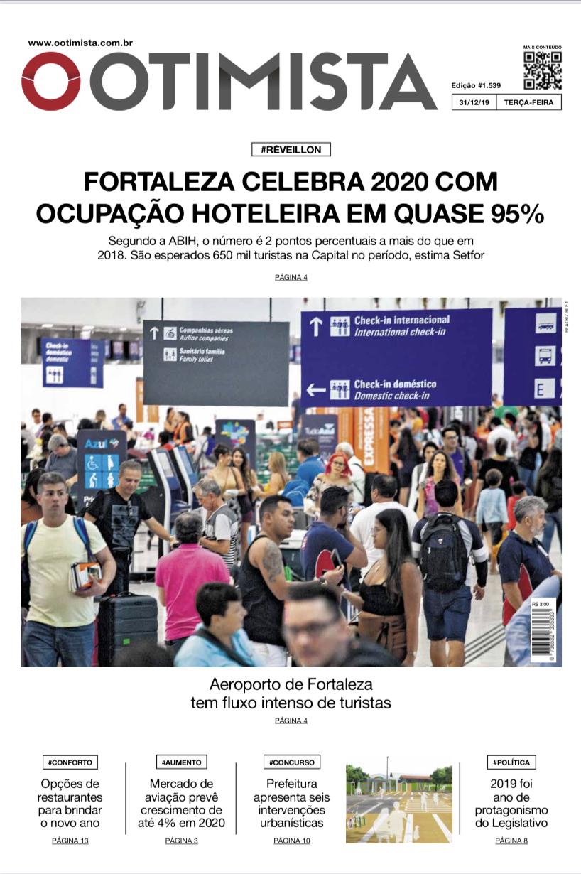 O Otimista - Edição impressa de 31/12/2019