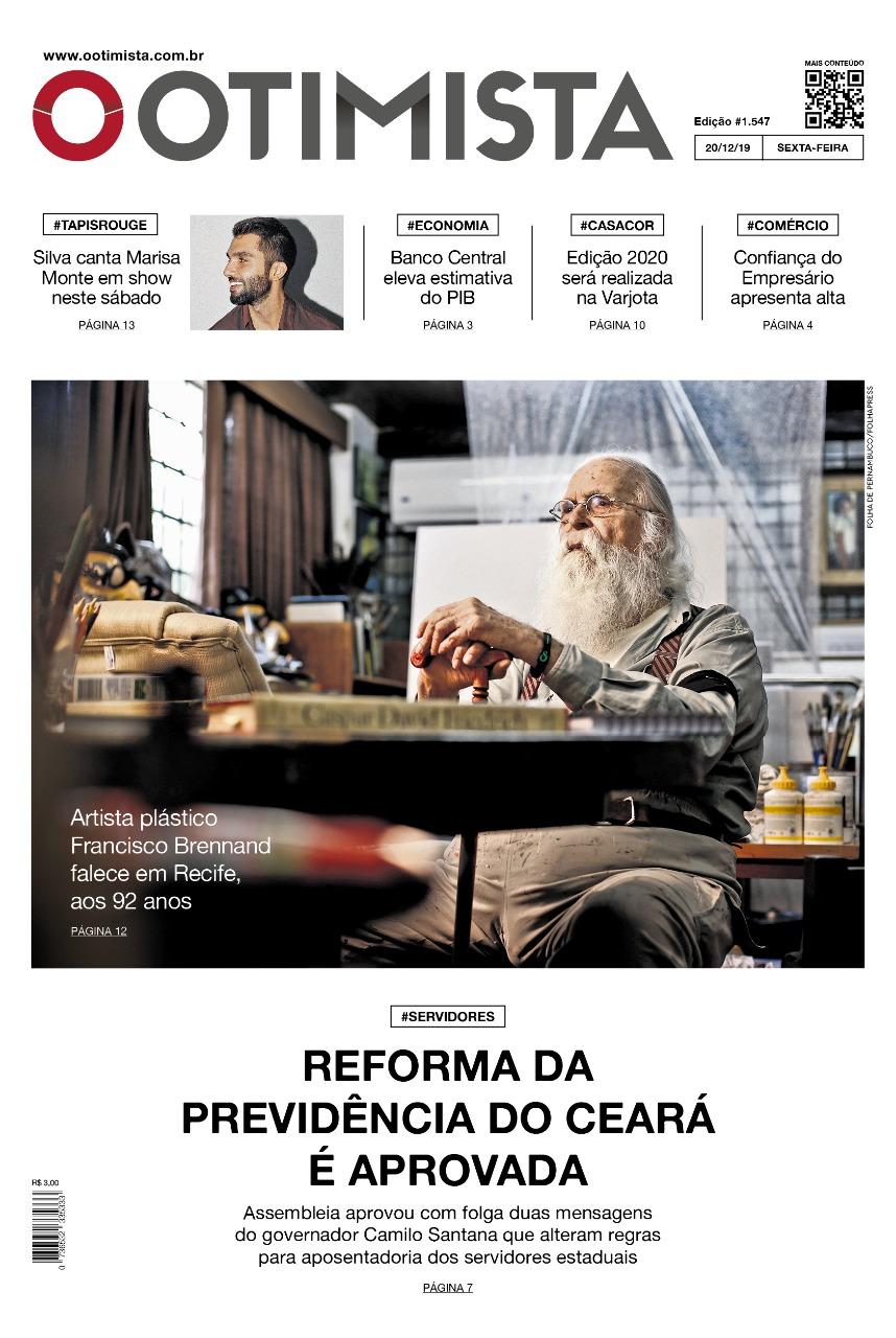 O Otimista – edição impressa de 20/12/2019