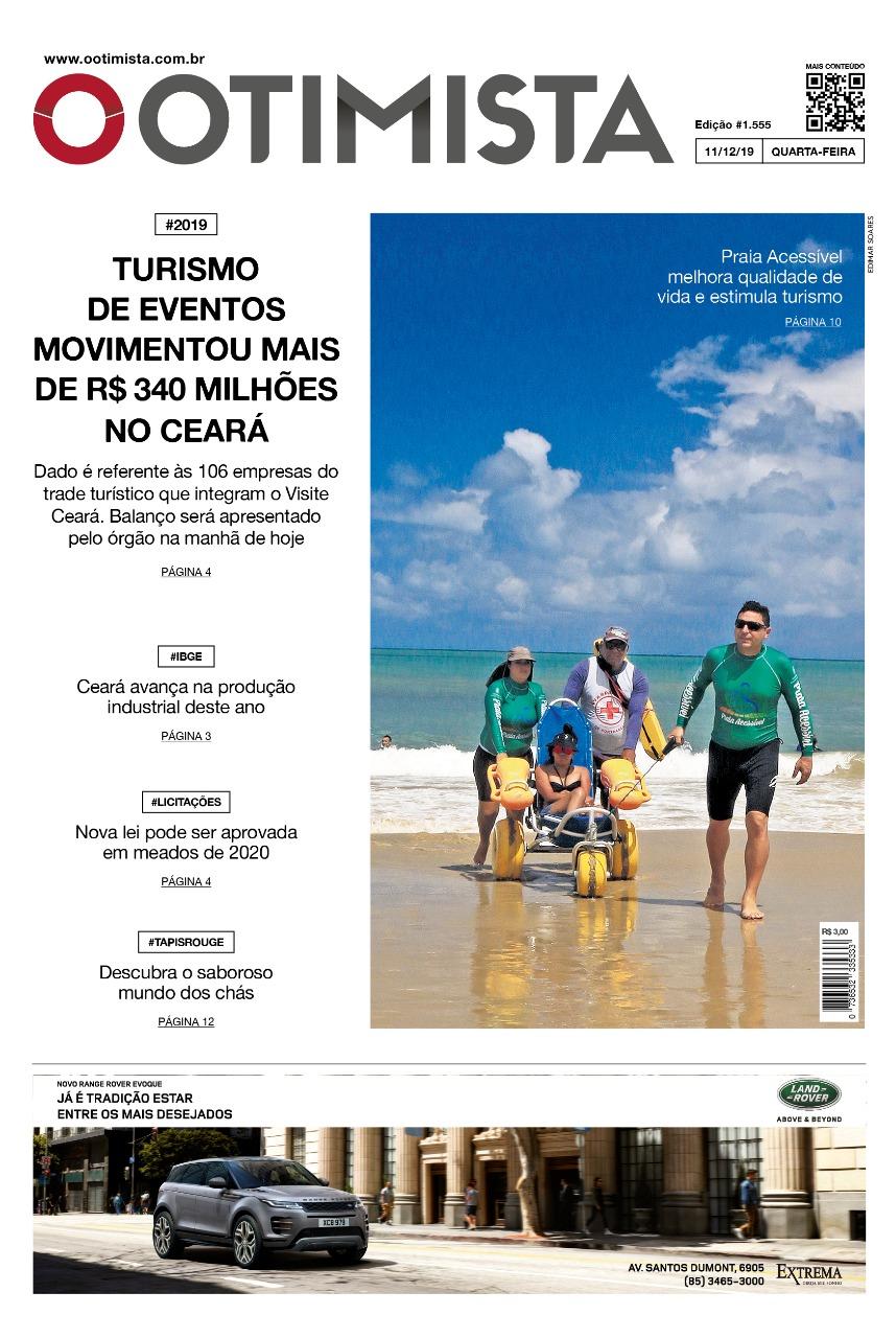 O Otimista - Edição impressa de 11/12/2019