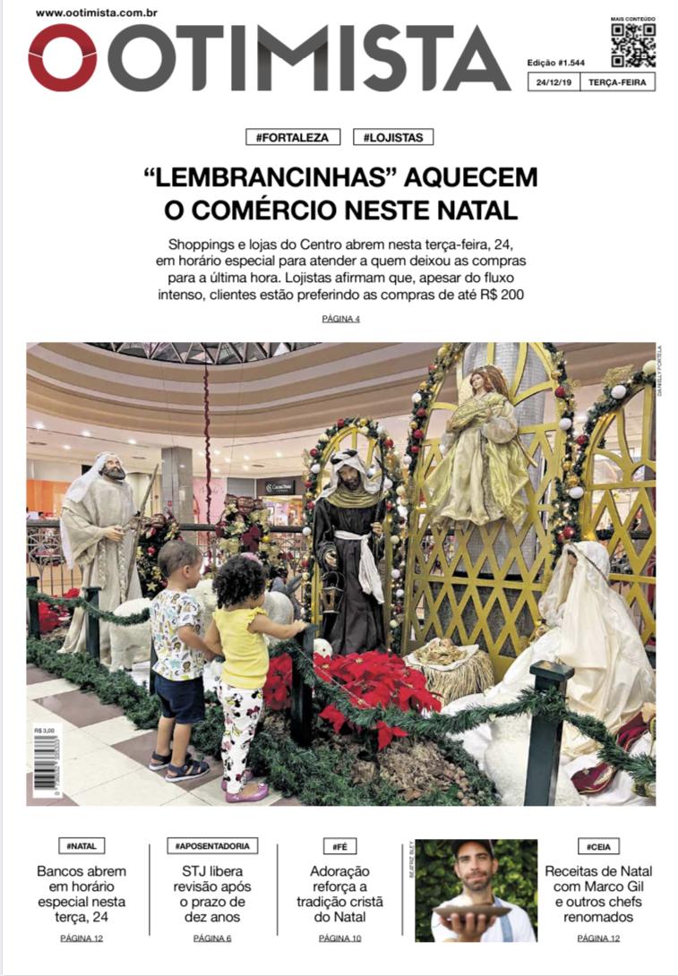 O Otimista - Edição impressa de 24/12/2019