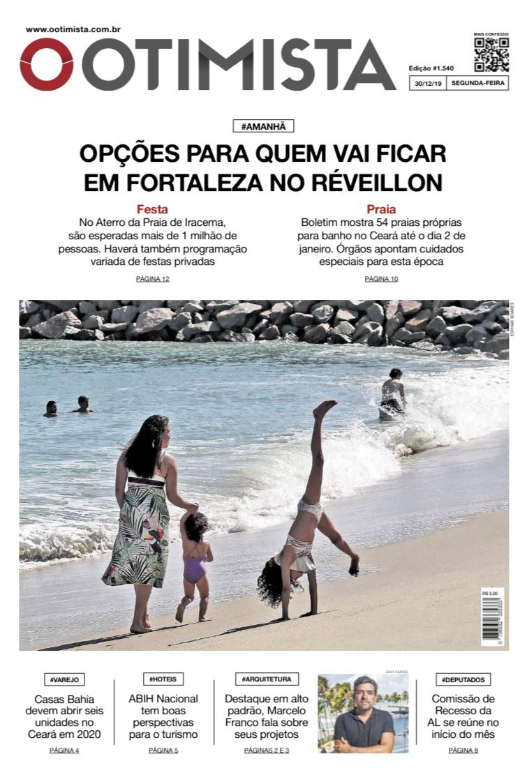 O Otimista - edição impressa de 30/12/2019
