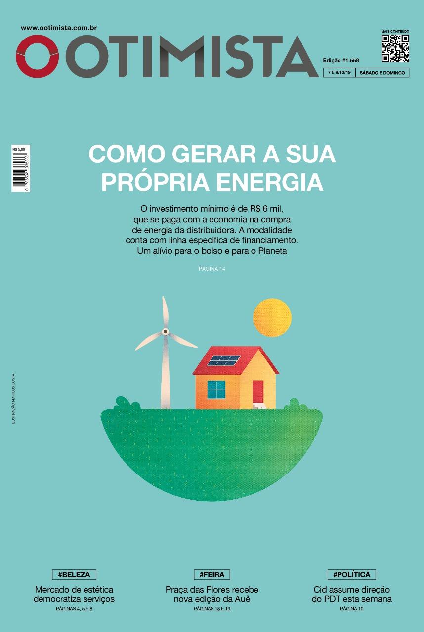 Jornal O Otimista – Versão impressa – sábado (7) e domingo (8)