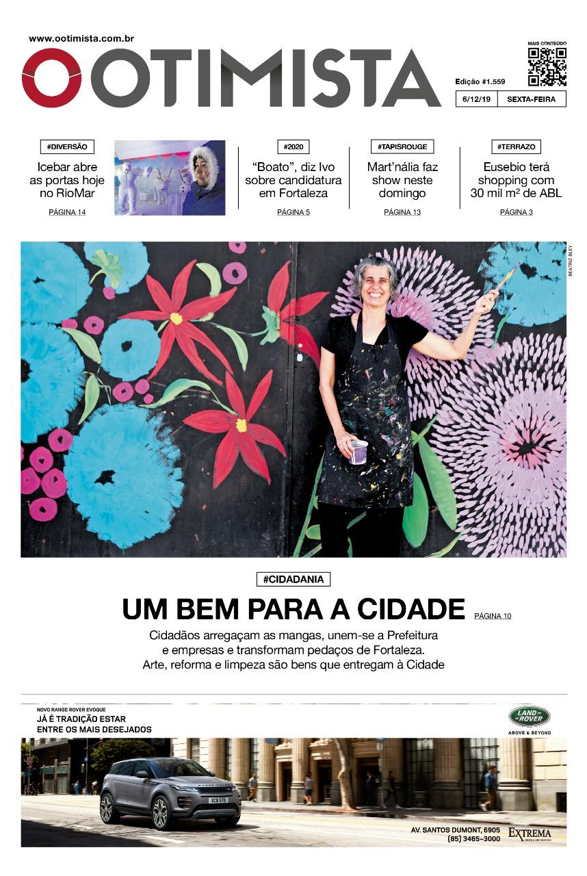 Jornal O Otimista - Edição impressa de 6/12/2019