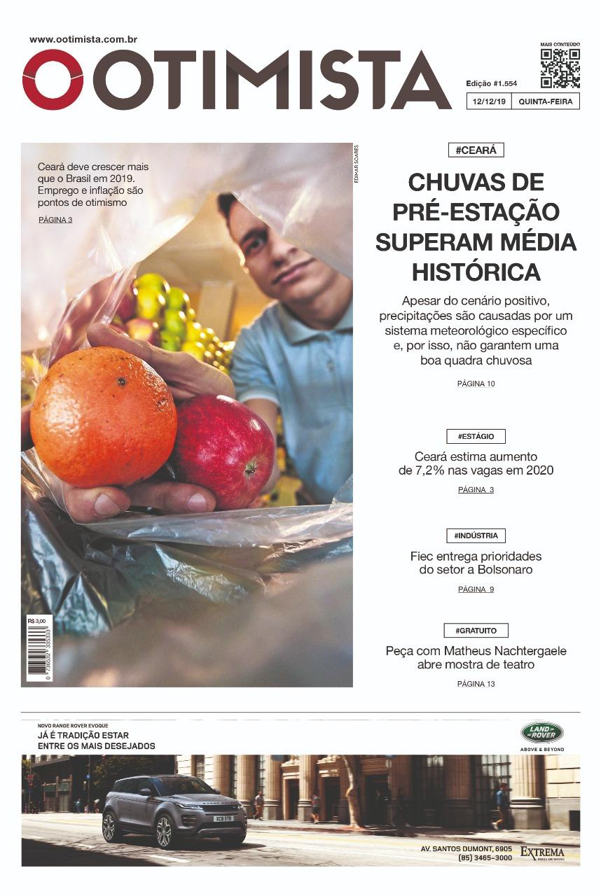 O Otimista - Edição impressa de 12/12/2019