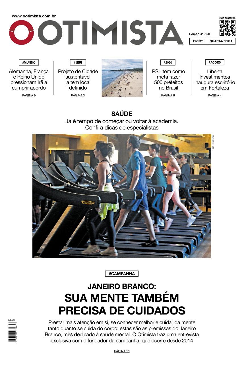 O Otimista - Edição impressa de 15/01/2020