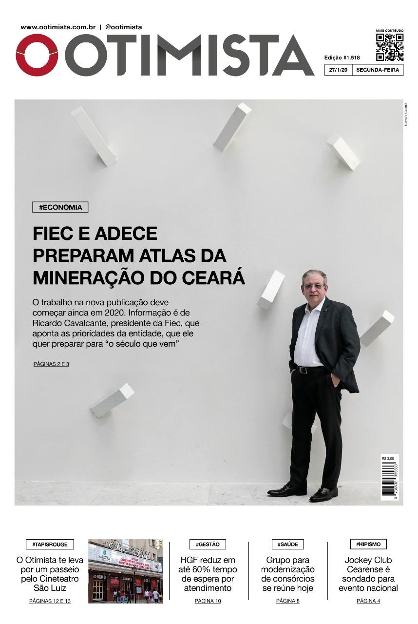 O Otimista - Edição impressa de 27/01/2020