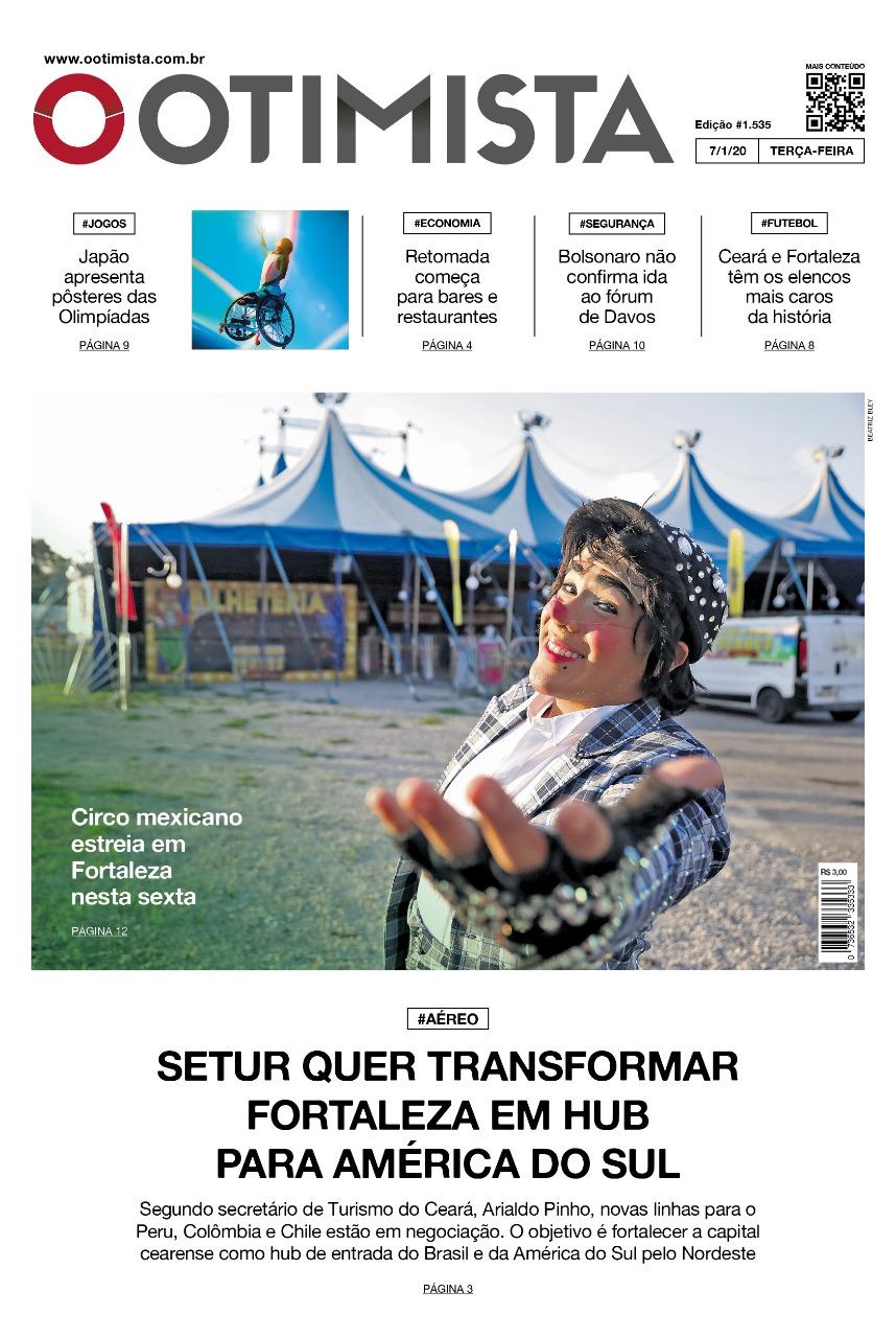 O Otimista - Edição impressa de 7/1/2020