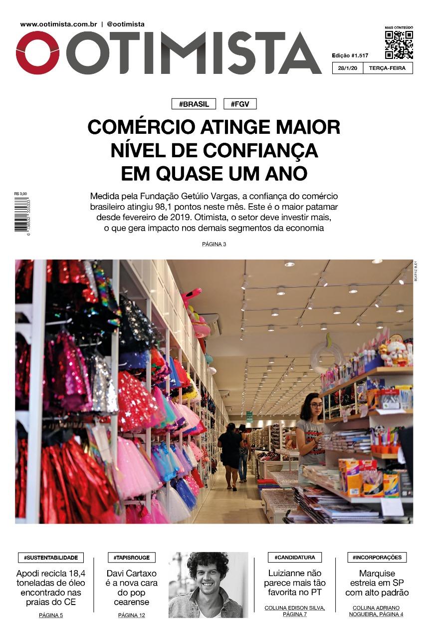 O Otimista - Edição impressa de 28/01/2020