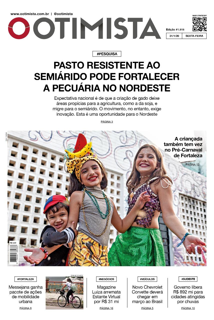 O Otimista - Edição impressa de 31/01/2020
