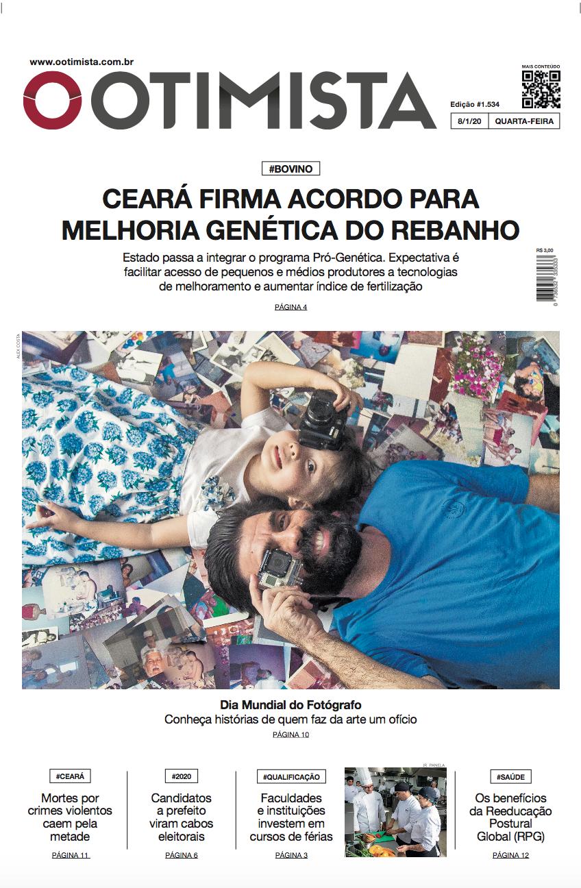 O Otimista - edição impressa de 8/1/2020