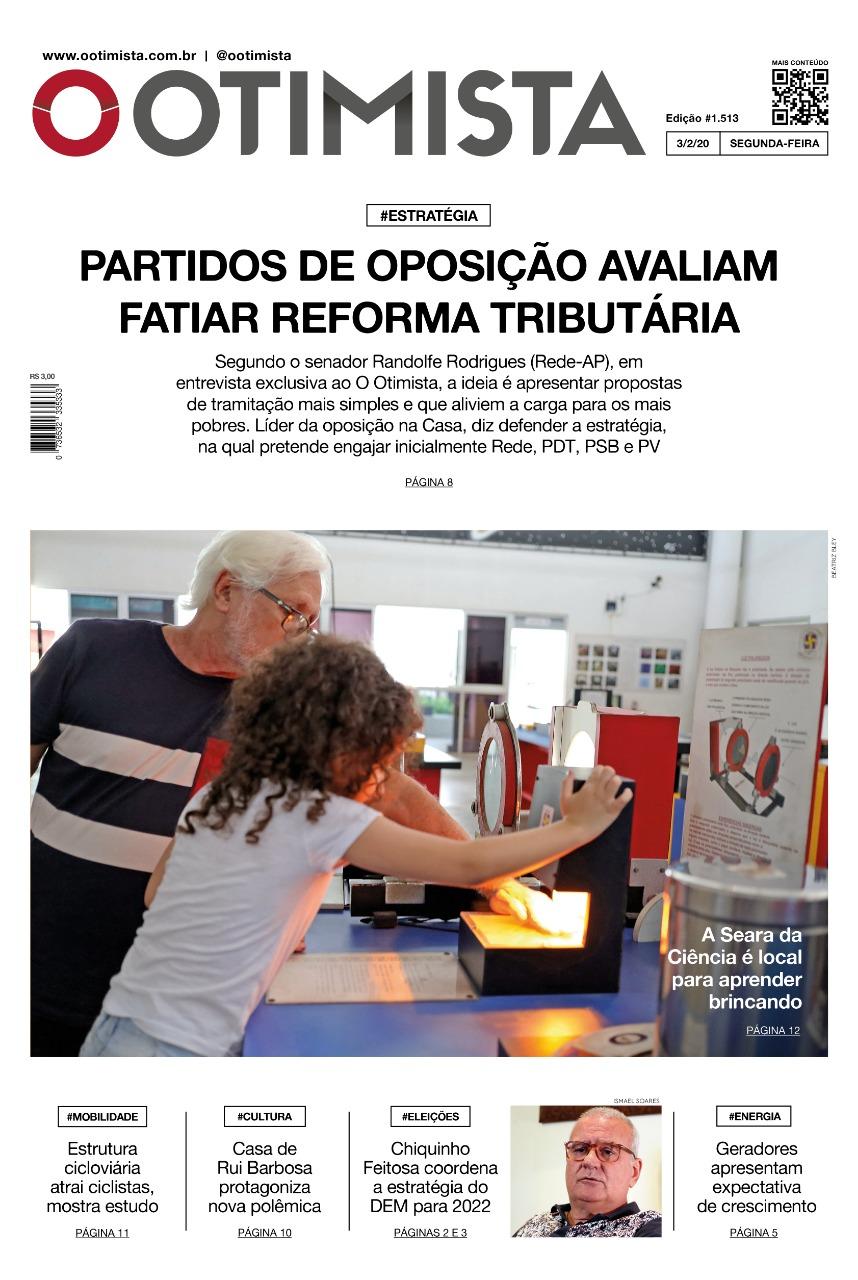 O Otimista – Edição impressa de 3/02/2020