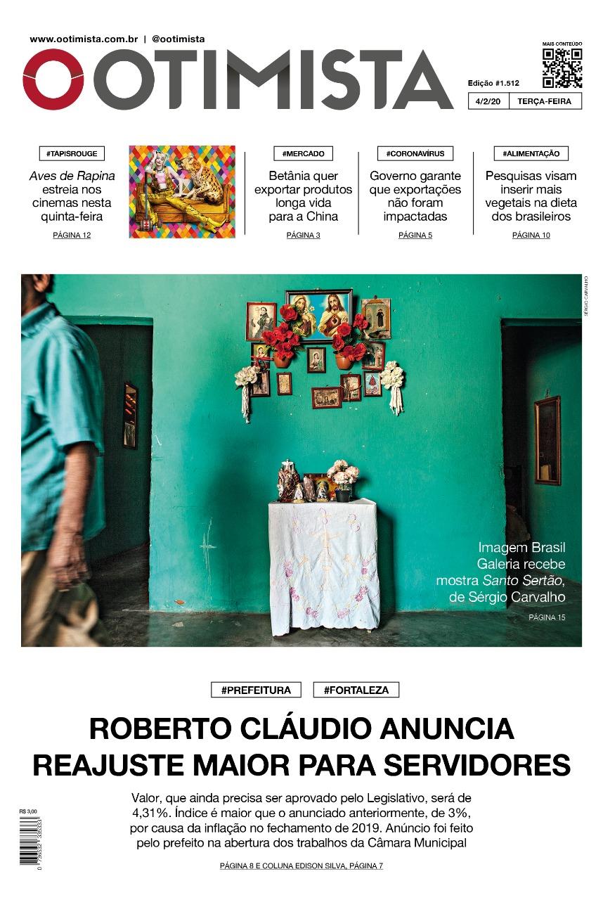 O Otimista - Edição impressa de 04/02/2020