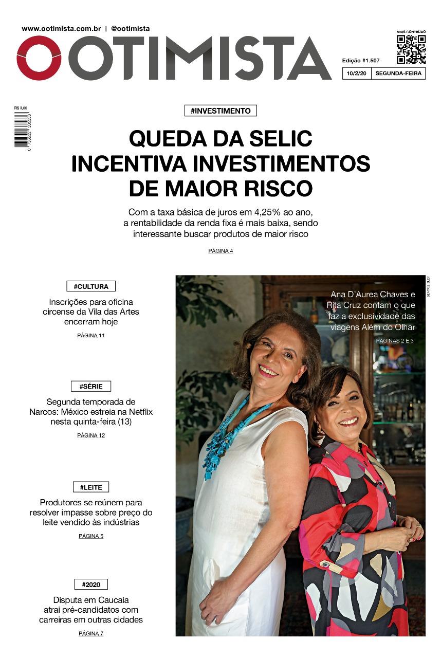 O Otimista - Edição impressa de 10/2/2020