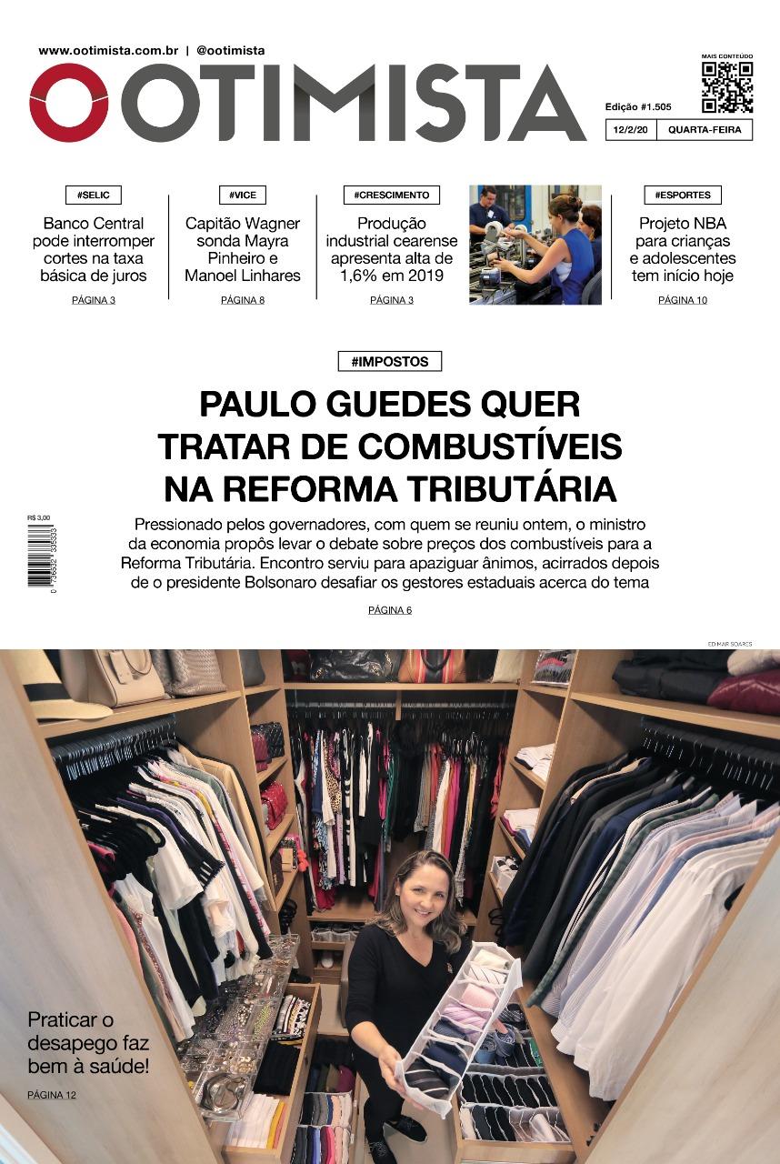 O Otimista - Edição impressa de 12/02/2020