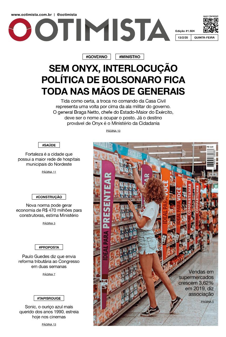 O Otimista - Edição impressa de 13/02/2020