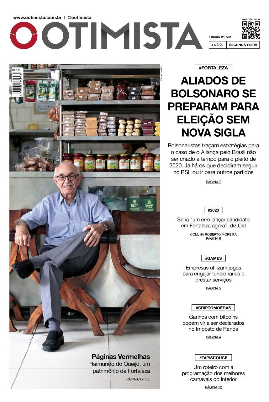 O Otimista - Edição impressa de 17/02/2020