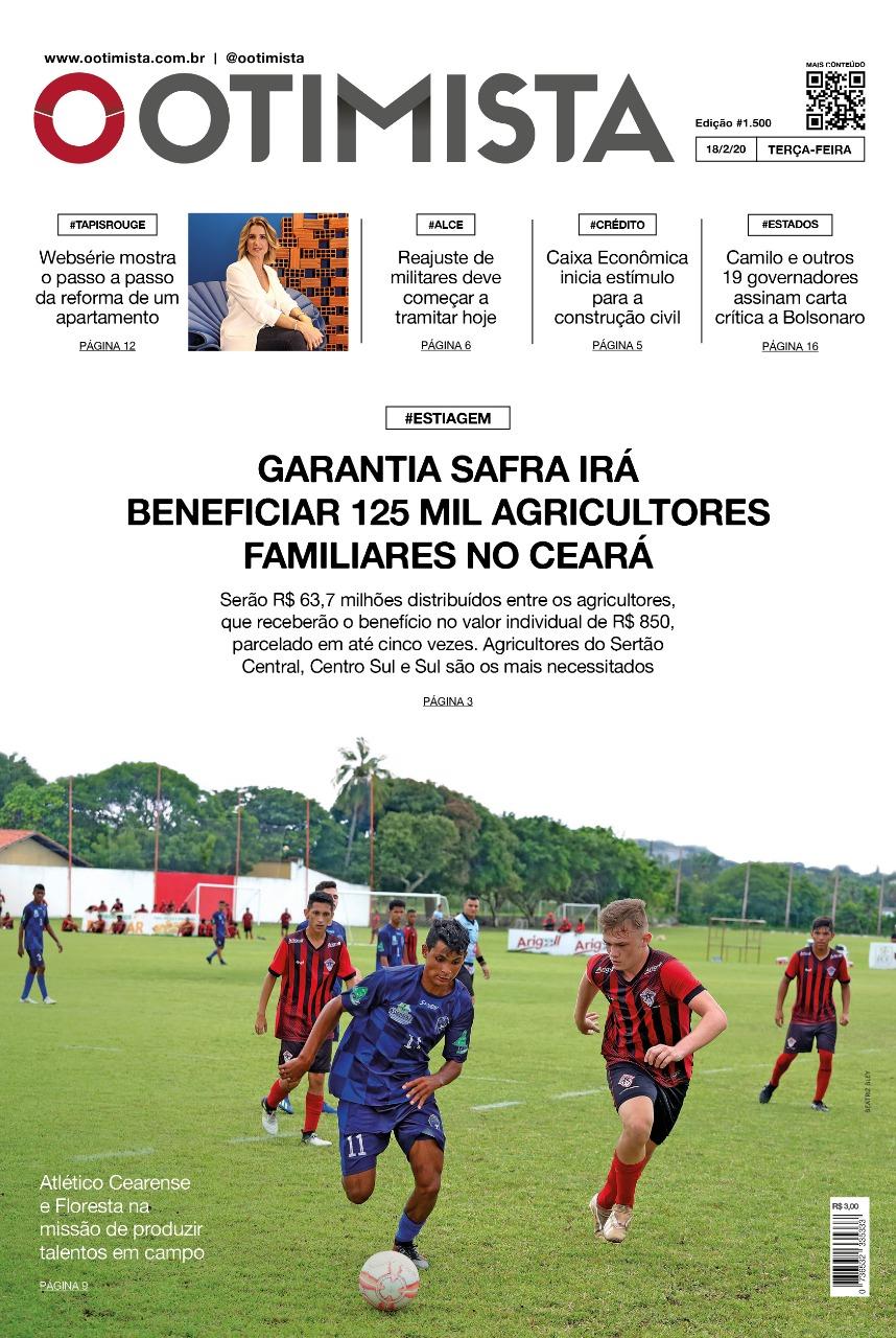 O Otimista - Edição impressa de 18/02/2020