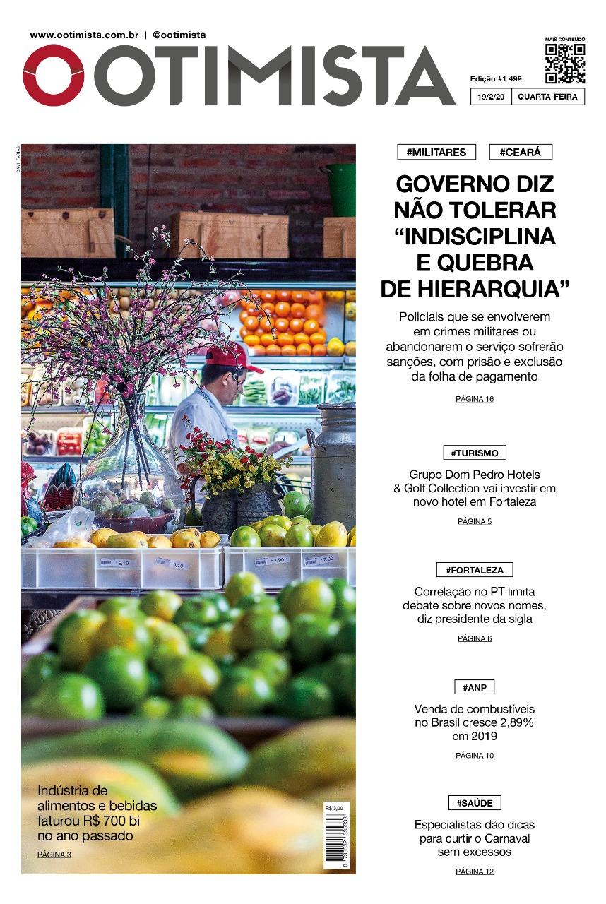O Otimista - Edição impressa de 19/02/2020