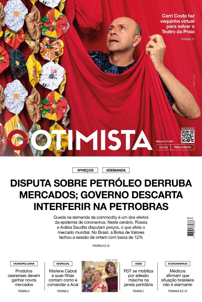 O Otimista - Edição impressa de 10/03/2020