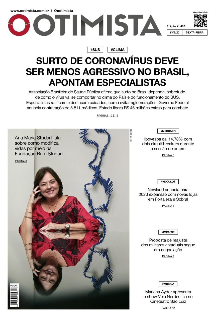 O Otimista - Edição impressa 13/03/2020
