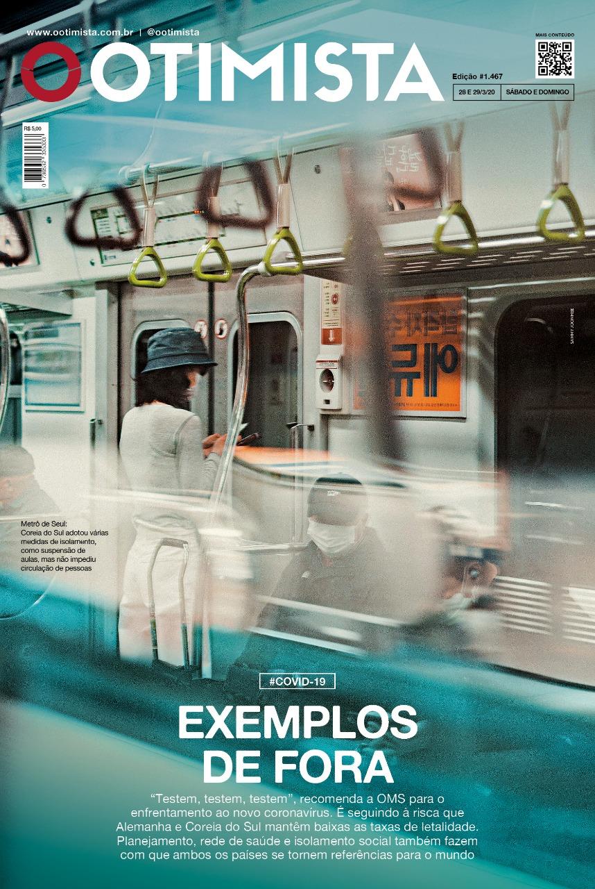 O Otimista - Edição impressa de 28 a 29/03/2020