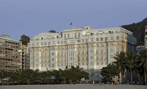 O vazio do ícone de Copacabana
