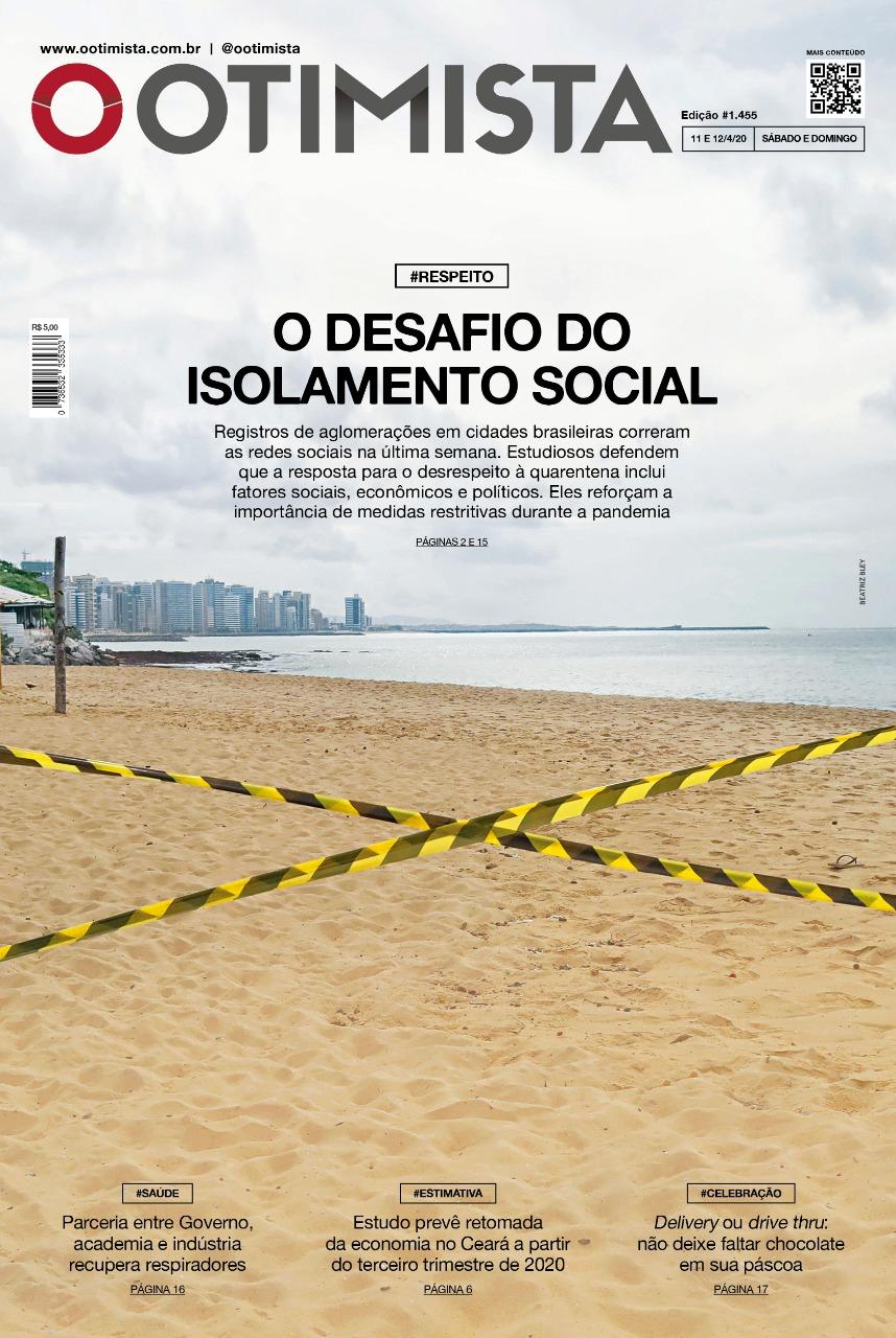 O Otimista - Edição impressa de 11 a 12/04/2020