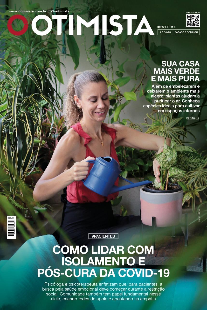 O Otimista - Edição impressa de 04 a 05/04/2020
