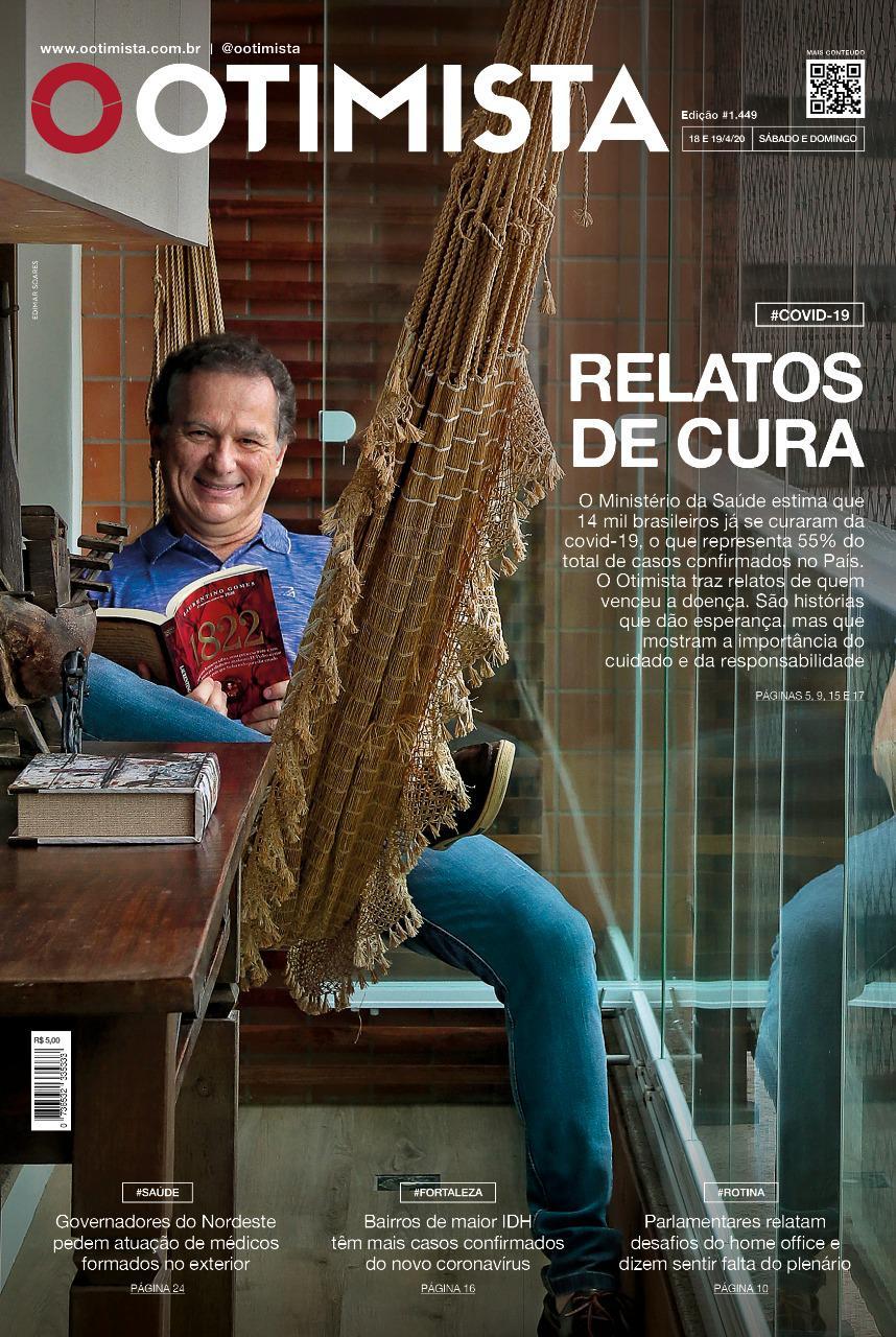 O Otimista - Edição impressa de 18 e 19/04/2020