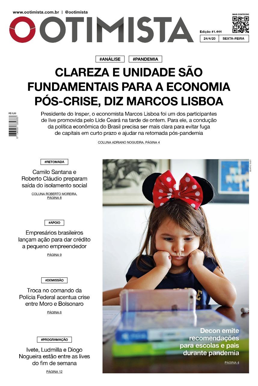 O Otimista - Edição impressa de 24/04/2020