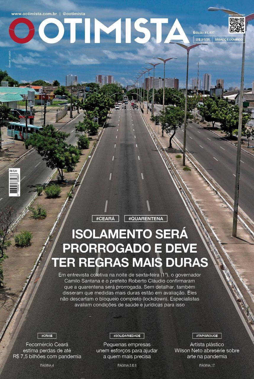 O Otimista – Edição impressa de 02 e 03/05/2020