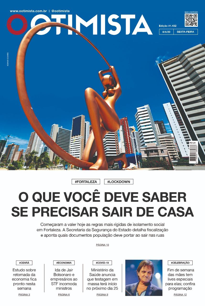 O Otimista - Edição impressa de 08/05/2020