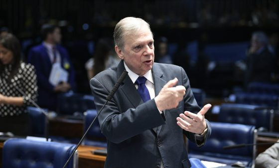 """""""Vai ser o grande teste do Rodrigo"""", diz Tasso sobre presidente do Senado"""