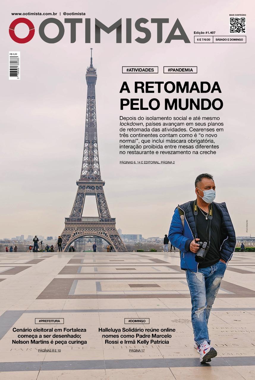 O Otimista - edição impressa de 6 e 7/6/2020
