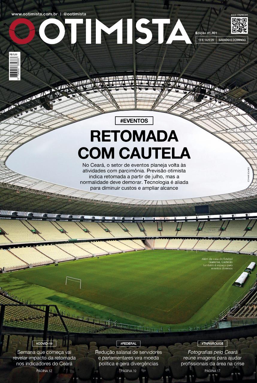 O Otimista - Edição impressa de 13 e 14/06/2020