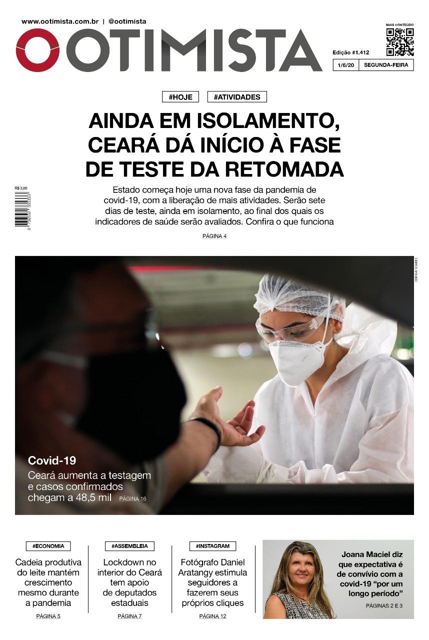 O Otimista - edição impressa de 1/6/2020