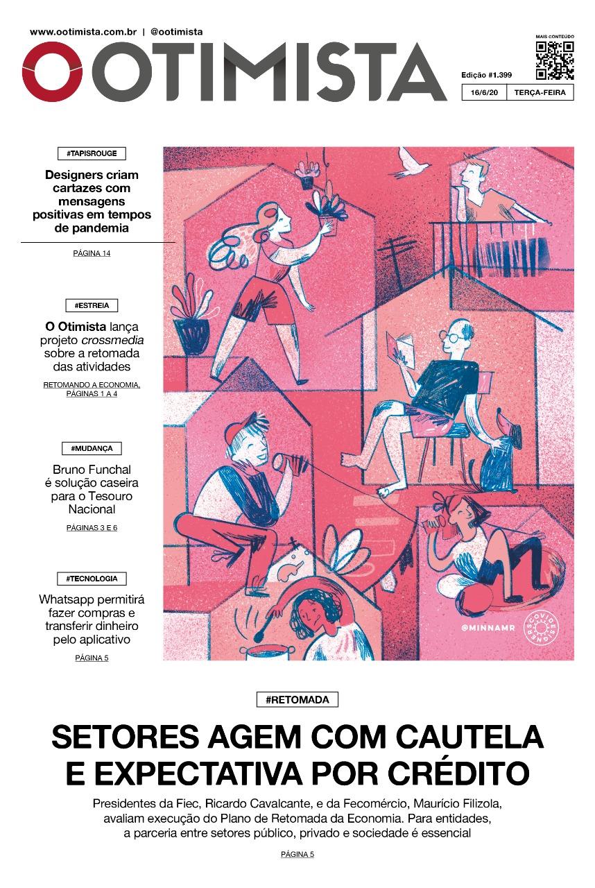 O Otimista - Edição impressa de 16/06/2020