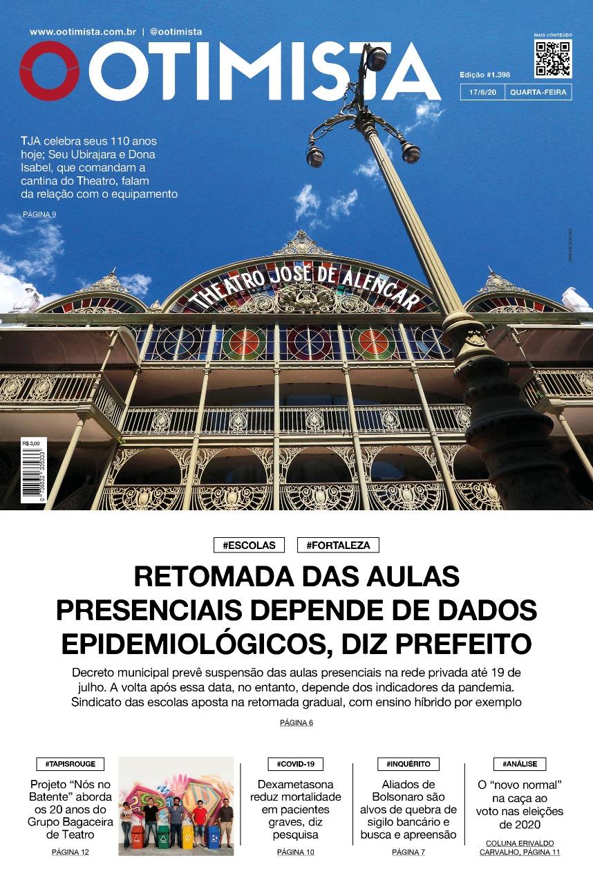 O Otimista - Edição impressa de 17/06/2020