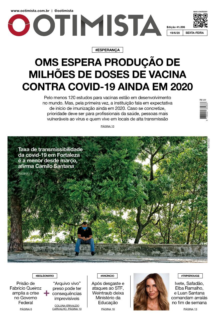 O Otimista - Edição impressa de 19/06/2020