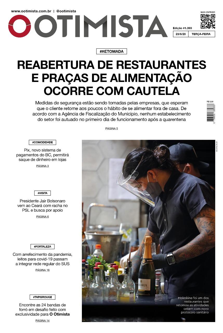 O Otimista - Edição impressa de 23/06/2020