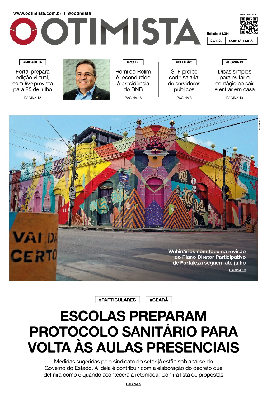 O Otimista - Edição impressa de 25/06/2020