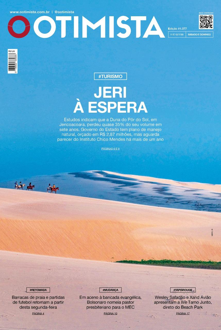 O Otimista - Edição impressa de 11 a 12/07/2020