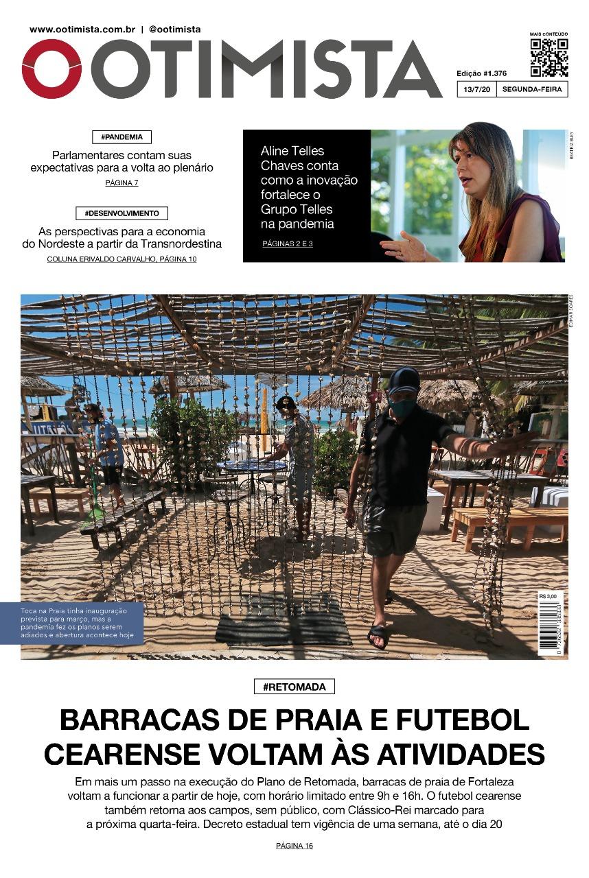O Otimista – Edição impressa de 13/07/2020