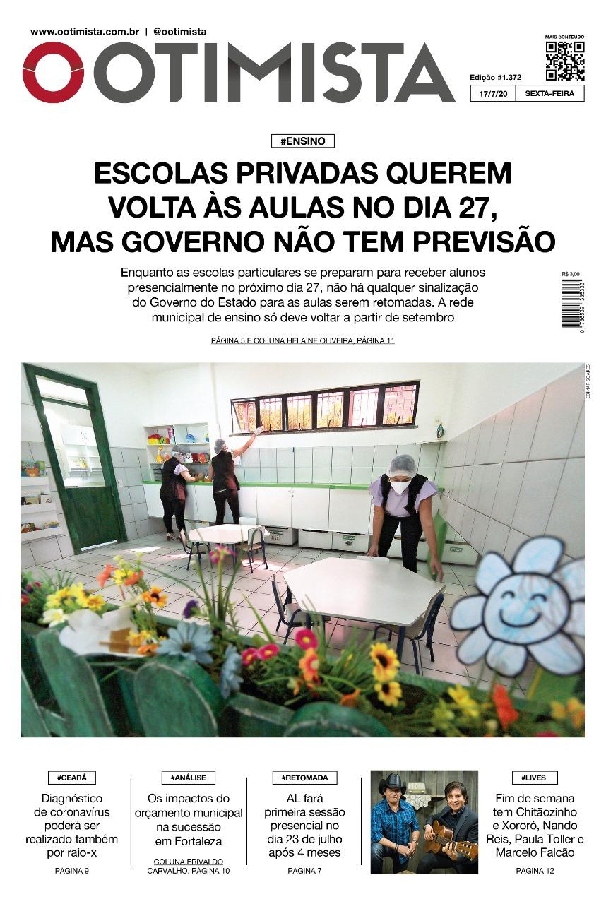 O Otimista - Edição impressa 17/07/2020